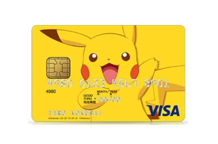 Visa Pokemon Credit Card