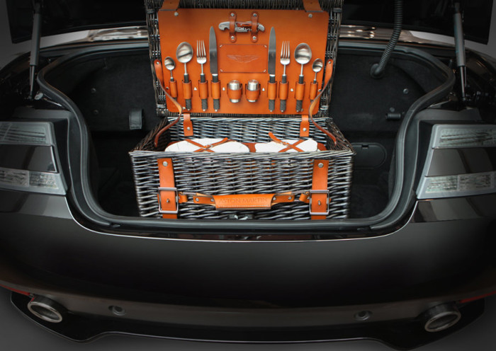 Aston Martin Picnic Hamper By Grant MacDonald