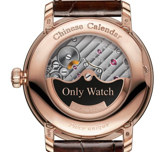 Blancpain Villeret Traditional Chinese Calendar Wristwatch