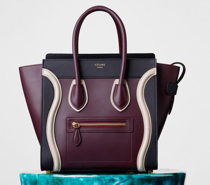 Céline Tricolor Micro Luggage Bag