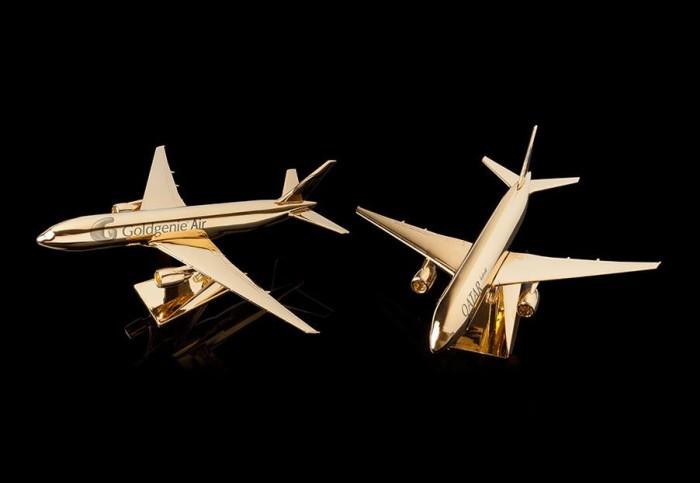 Goldgenie Model Airplane