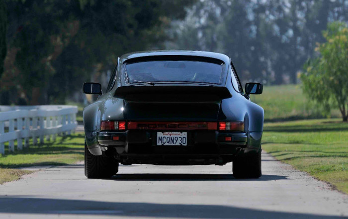 Steven McQueen 1976 Porsche 930 Turbo Carrera