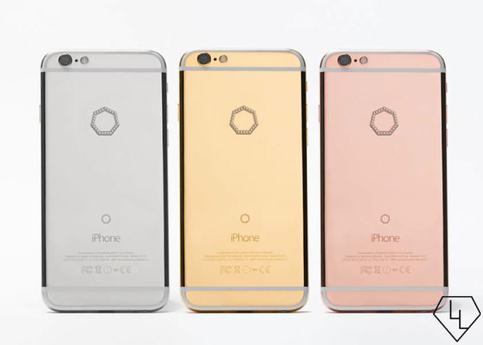 Brikk Diamond Studded iPhone 6S