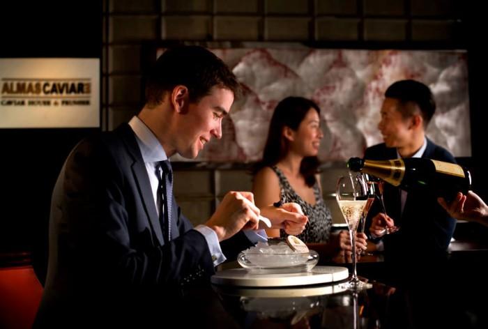 Ritz-Carlton Hong Kong Almas Caviar Bar