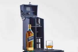 TUMI x Johnnie Walker Blue Label Tasting Case