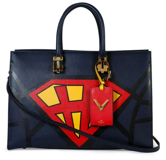 Valentino Superhero Superman Tote