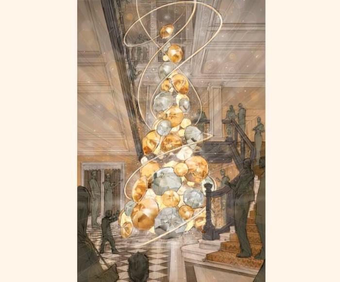 Christopher Bailey Claridge's 2015 Christmas Tree