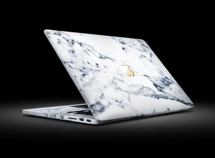 ColorWare MacBook Pro Marble