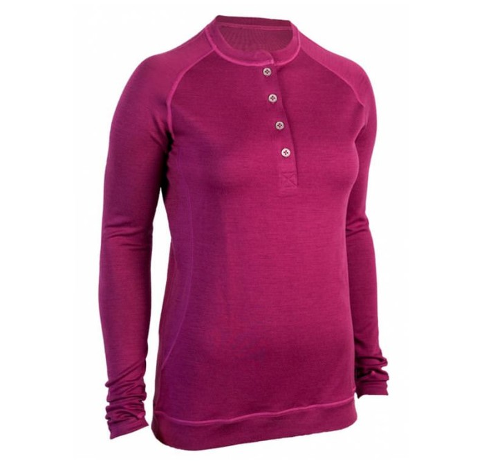 Showers Pass Women's Bamboo-Merino Henley Shirt
