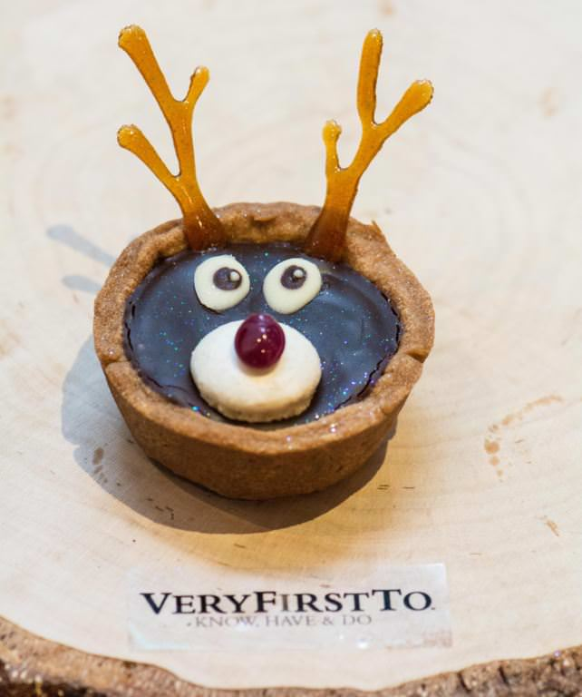Rudolph The Ruby-Nosed Reindeer Tarts