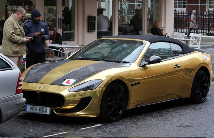 Maserati Gran Cabrio L Plate