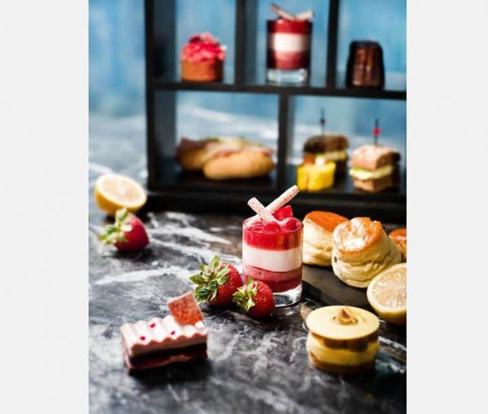 Ritz-Carlton Hong Kong Strawberry Citrus Afternoon Tea