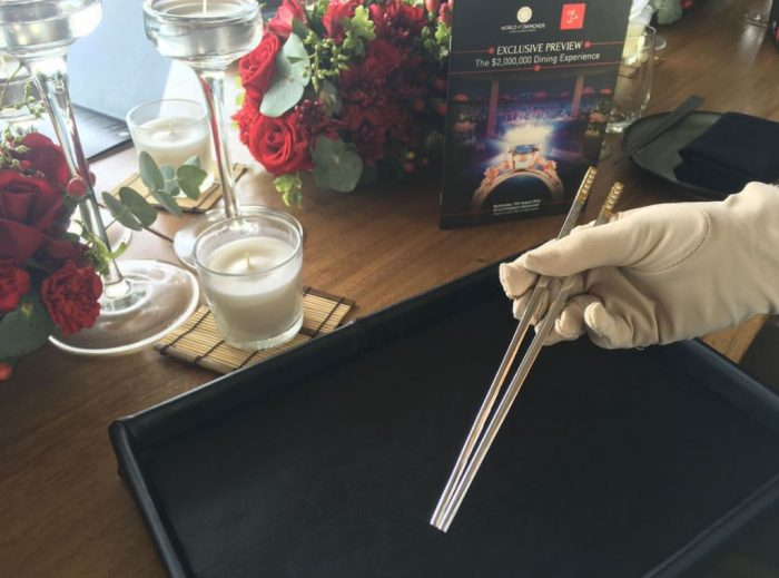 Diamond Studded Chopsticks Ce La Vi