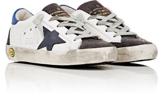 Distressed Superstar Sneakers