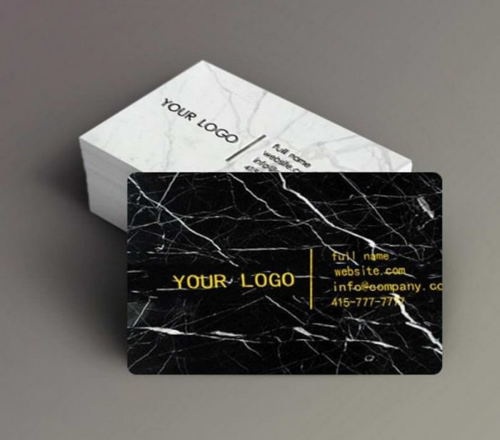 Mikol Marble Business Cards