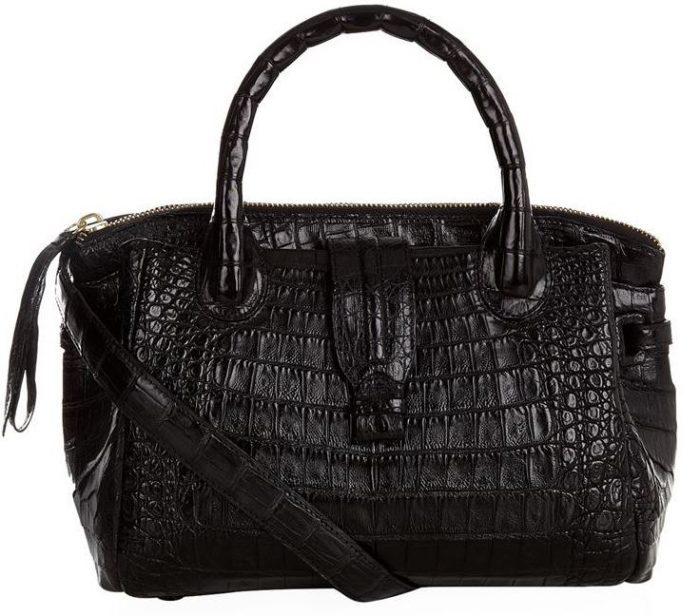 Nancy Gonzalez - Mini Cristina Crocodile Handbag