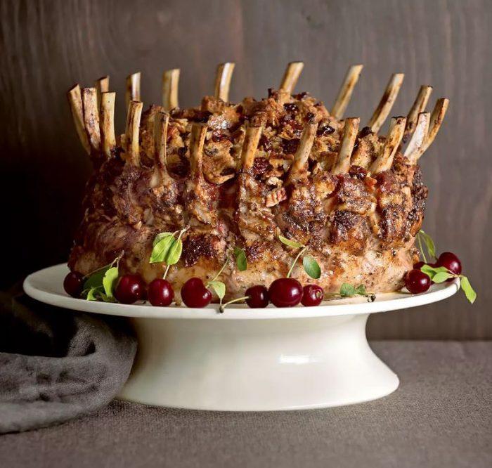 Neiman Marcus Stuffed Pork Crown Roast