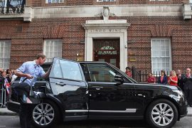 William and Catherine Range Rover Vogue SE