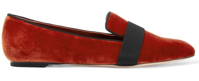 Alexander McQueen Velvet Loafers