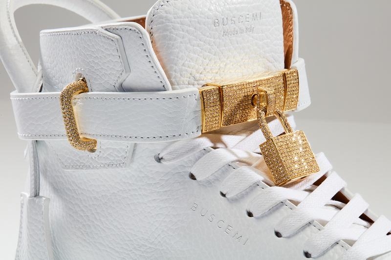 100 MM Diamond Sneaker