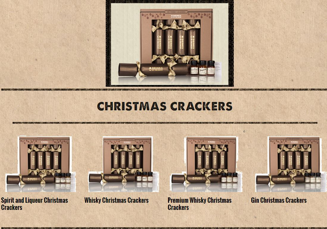 Drinks by the Dram Christmas Crackers