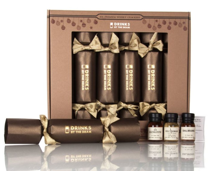 Drinks by the Dram Premium Whisky Christmas Crackers