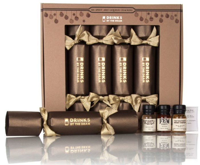 Drinks by the Dram Spirit & Liqueur Christmas Crackers