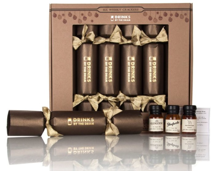 Drinks by the Dram Whisky Christmas Crackers