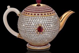 "Dazzling ""Egoist"" The World's Most Expensive Teapot"