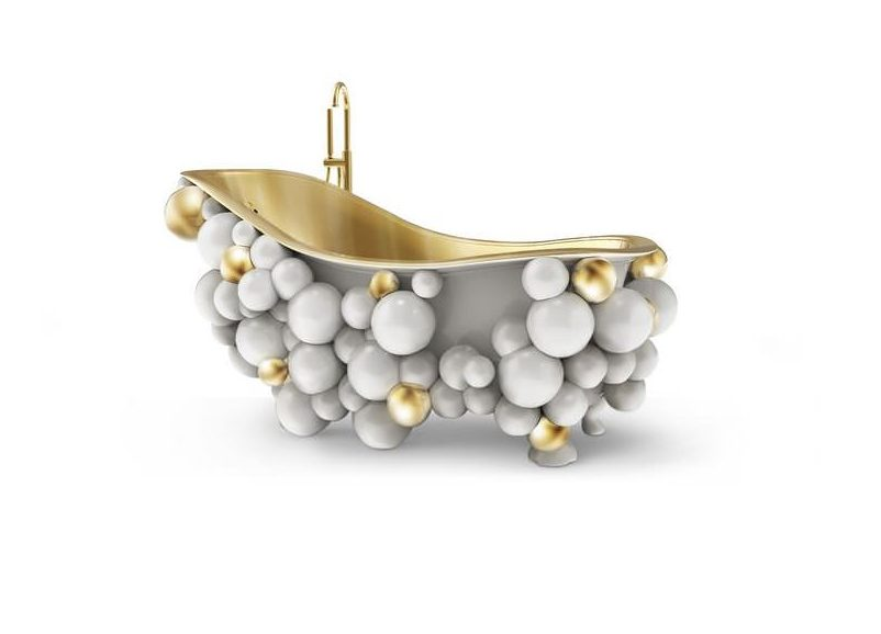 Newton White Bathtub