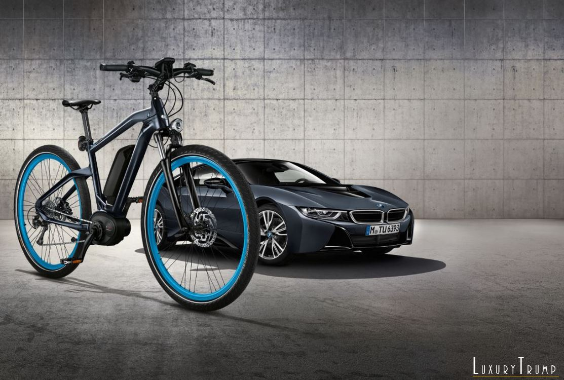 BMW Cruise e-Bike Protonic Dark Silver