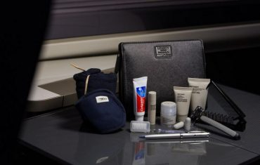 British Airways First Amenity Kits