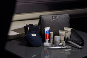 British Airways First Amenity Kits