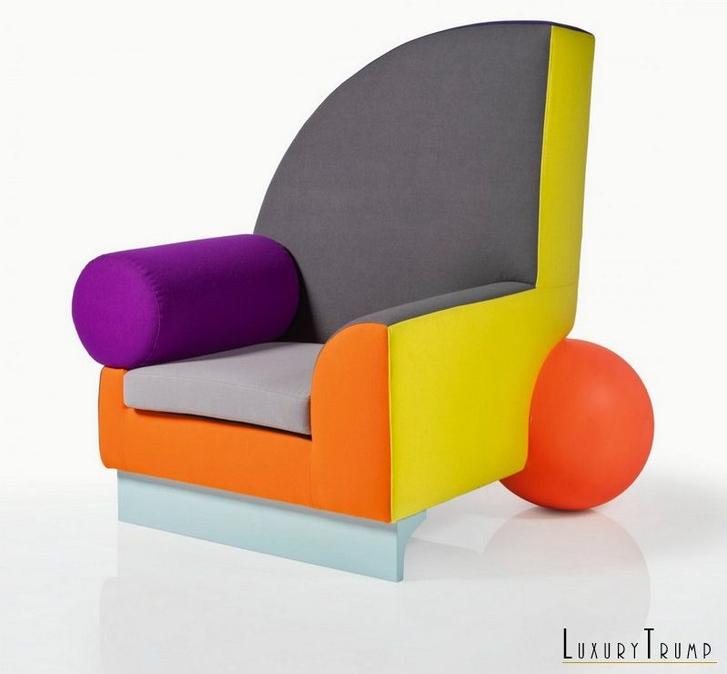 David Bowie Colorful Furniture