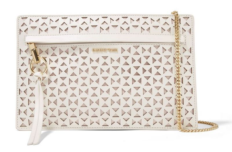 Elizabeth and James Mini Laser Cut Shoulder Bag