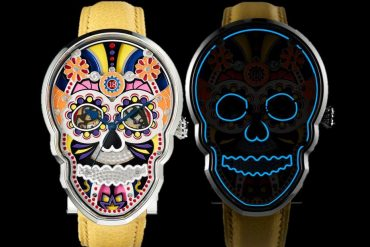 Fiona Krüger Celebration Skull Watch
