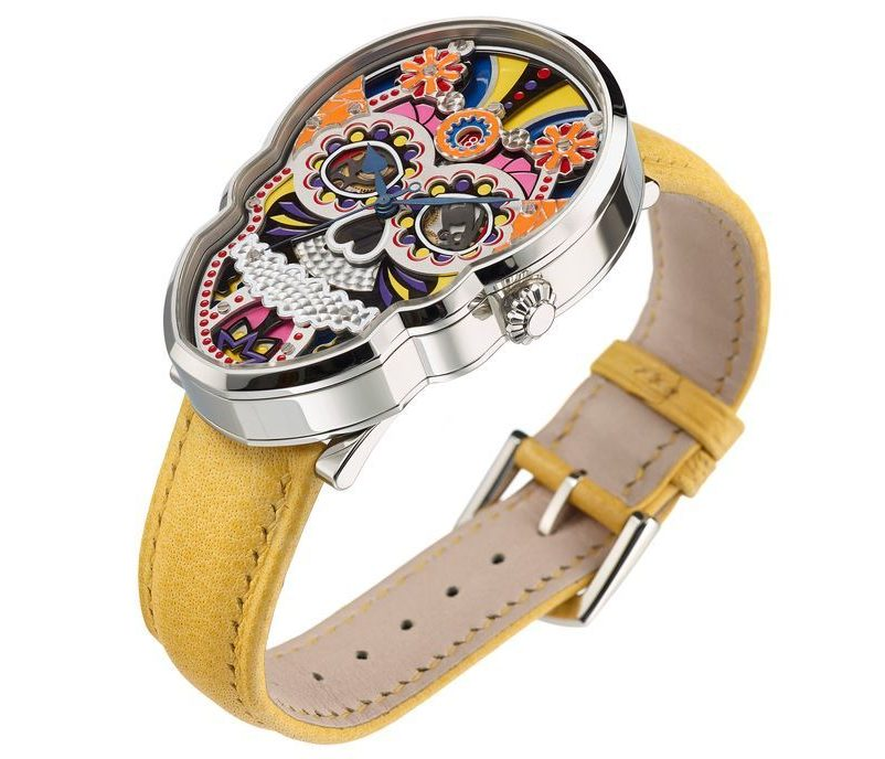 Fiona Krüger Celebration Skull Watch