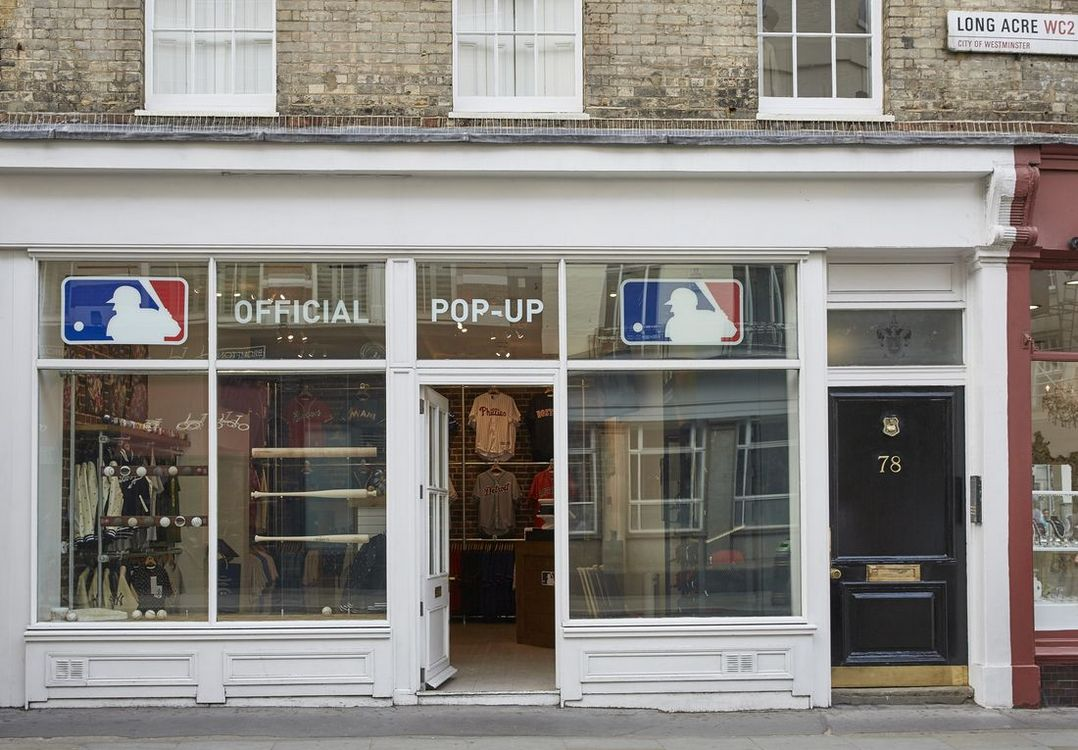 MLB Pop-Up Store London