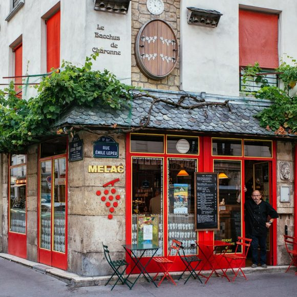 Paris Shop Signs - Bistrot Melac
