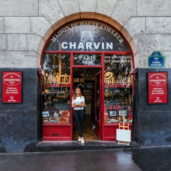 Paris Shop Signs - Charvin
