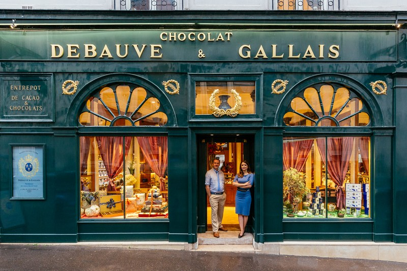 Paris Shop Signs - Debauve Et Gallais Chocolat