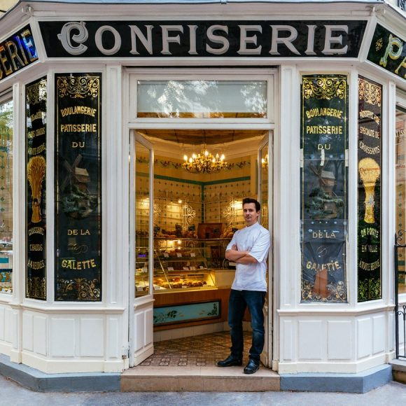 Paris Shop Signs - Patisserie Boulangerie Boris