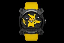 RJ X Pokémon Pikachu watch