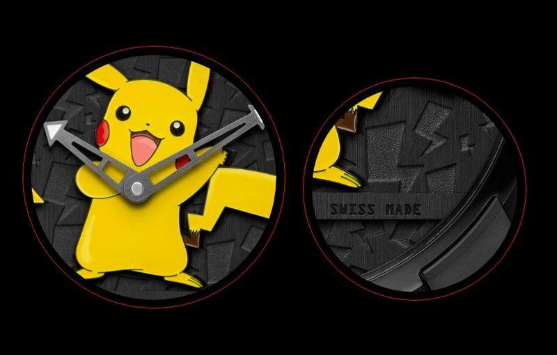 RJ X Pokémon Pikachu watch