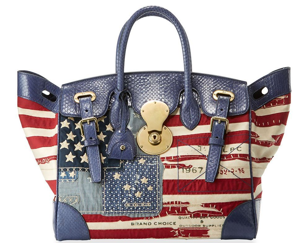 American Flag Ricky Bag