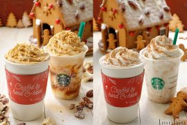 Starbucks Japan Holiday Drinks