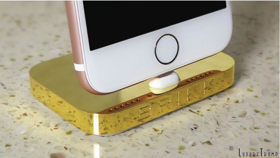 Brikk Lux iPhone Dock