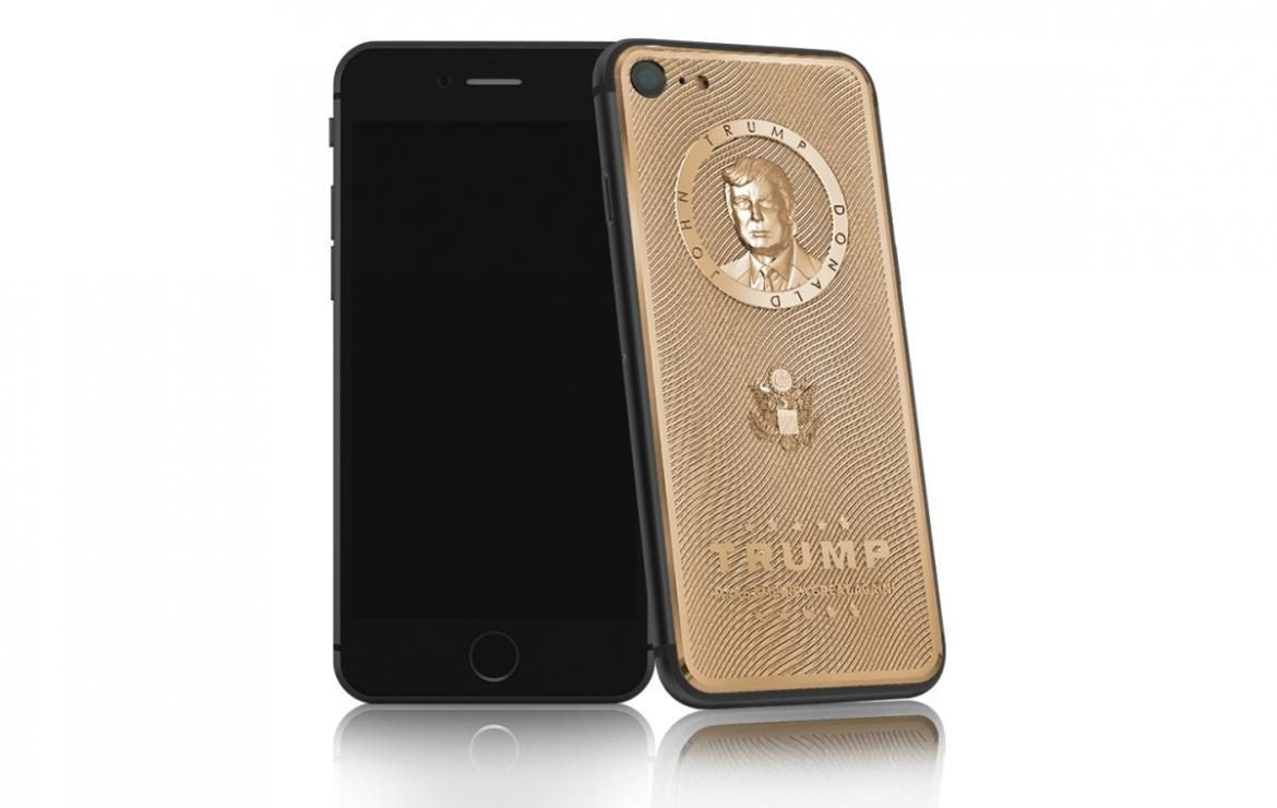 Donald Trump Gold iPhone