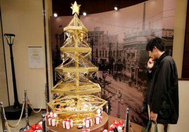 Ginza Tanaka Gold Christmas Tree