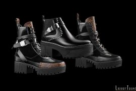 Louis Vuitton Boots Goth Collection